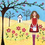 Art Print - Flower Garden